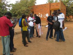 1er jour au Campus Numérique Francphone - Enquête de terrain