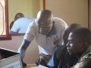 Innocent aide Goïta du Mali sur JOSM