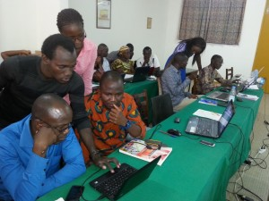 OSM, FreeGIS & opendata Trainings in Ivory Coast