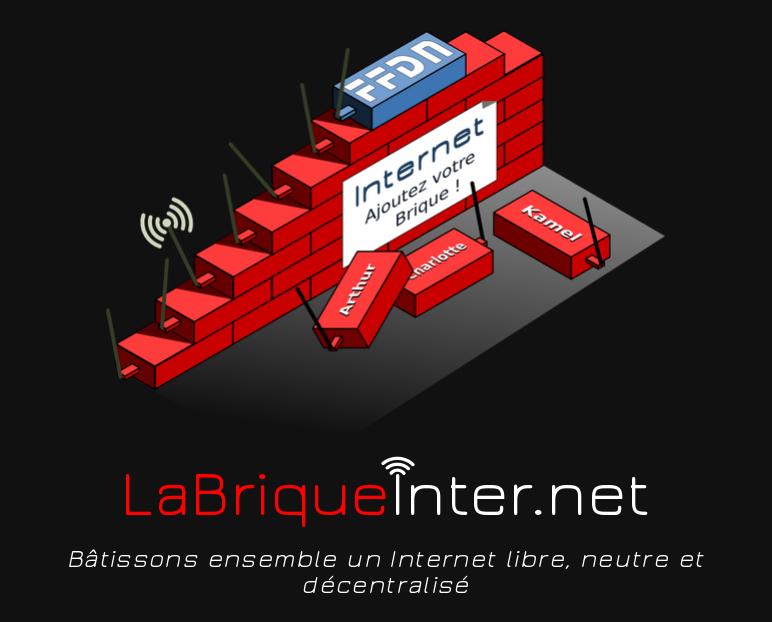 Copie d'écran du site de la Brique Internet