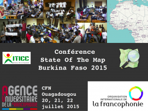 Western African State Of the Map Conference (SoTM) - #Burkina