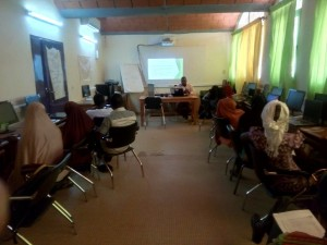 Training in Niamey (Niger) 5 days ours training « OSM, Free GIS and opendata » & 1 day mapathon