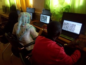 Mapping in Niamey (Niger) 5 days ours training « OSM, Free GIS and opendata » & 1 day mapathon