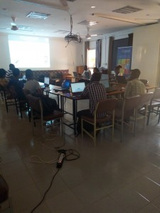 """Ouagaoudou (Burkina) """"OSM, Free GIS and opendata"""" day : conference, hands on technical sessions and mapathon"""